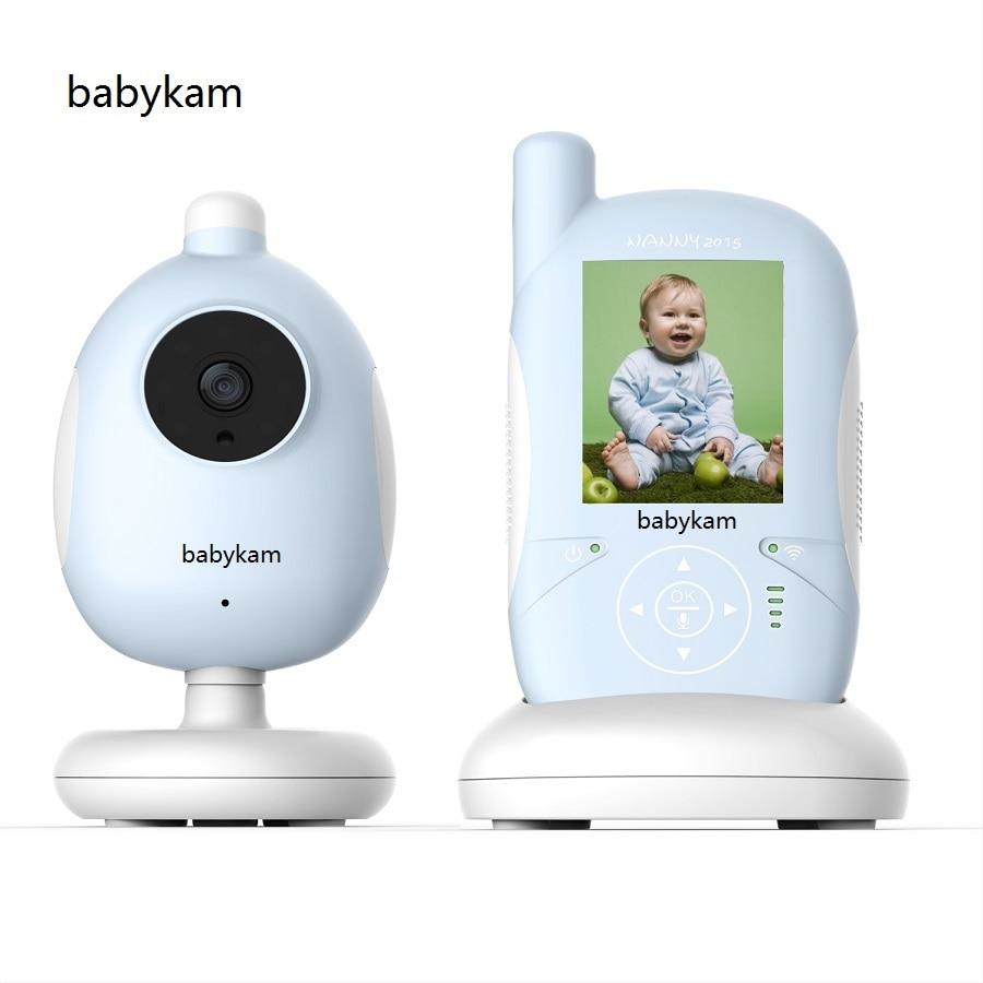 Babykam baby intercom nanny Hot 2.4 inch LCD baby monitor with camer IR Night vision 2 way talk Lullabies Temperature Monitor help your baby talk