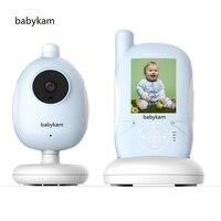 Babykam baby intercom nanny Hot 2.4 inch LCD baby monitor with camer IR Night vision 2 way talk Lullabies Temperature Monitor