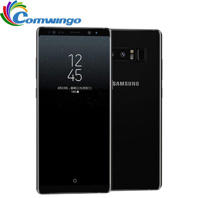Original Unlocked Samsung Galaxy Note 8 6GB RAM 64GB ROM Dual Back...