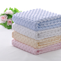 2016 Personalized Lovey Minky Dot Infant Baby Blanket Love Pink Fleece Blanket Thick Winter Soft Warm Polyester Baby Blanket