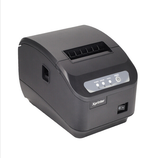 ФОТО 1pc High quality original Auto-cutter 80mm Thermal Receipt Printer Kitchen/Restaurant printer POS printer XP-Q200II
