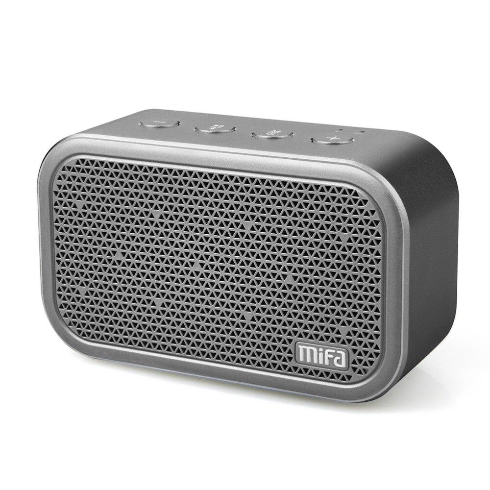 MIFA M1 Portable Bluetooth Haut-Parleur et Microphone Intégré Stéréo Son Rock Extérieur Sans Fil Bluetooth Haut-Parleur de Soutien TF carte