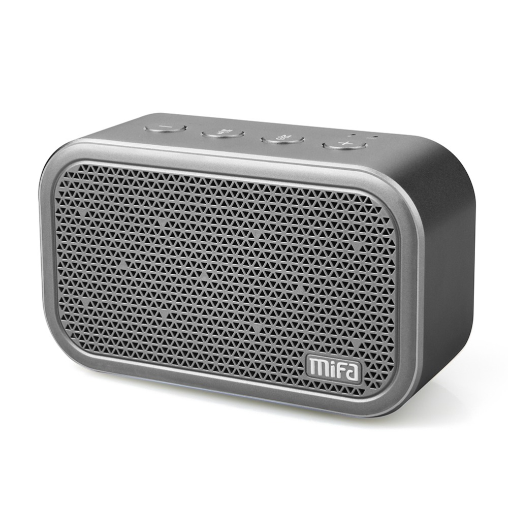 MIFA M1 Portable Bluetooth Speaker dan Mikrofon Built-in Stereo Rock Sound Outdoors Wireless Bluetooth Speaker Mendukung kartu TF