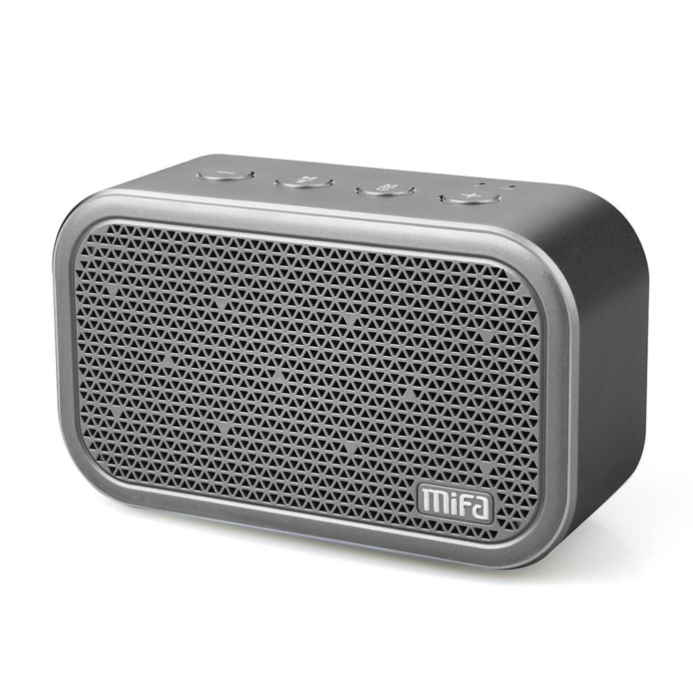 MIFA M1 Tragbare Bluetooth Lautsprecher und Eingebaute Mikrofon Stereo Rock-Sound Im Freien Drahtlose Bluetooth Lautsprecher Unterstützung TF karte