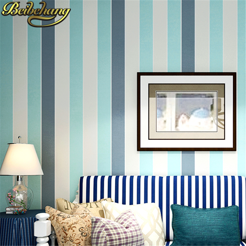 beibehang 3D Mural wallpaper for walls 3 d modern stripe roll flock printing wall paper roll papel de parede tapete bedroom room beibehang deerskin luxury european leaf wallpaper for walls 3 d non woven papel parede mural wallpapers roll 3d wall paper roll