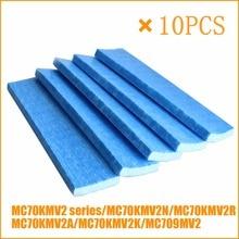 10 peças de substituição filtro purificador ar para daikin mc70kmv2 série MCK57LMV2 A MCK57LMV2 N mc709mv2 mc70kmv2n mc70kmv2r