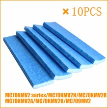 10pcs 교체 공기 청정기 부품 필터 daikin mc70kmv2 시리즈 MCK57LMV2 A MCK57LMV2 N mc709mv2 mc70kmv2n mc70kmv2r