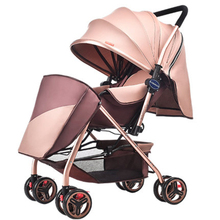 Hot to Russia baby stroller summer winter can be sitting can be folded folding baby carriage ultra-light baby children's trolley
