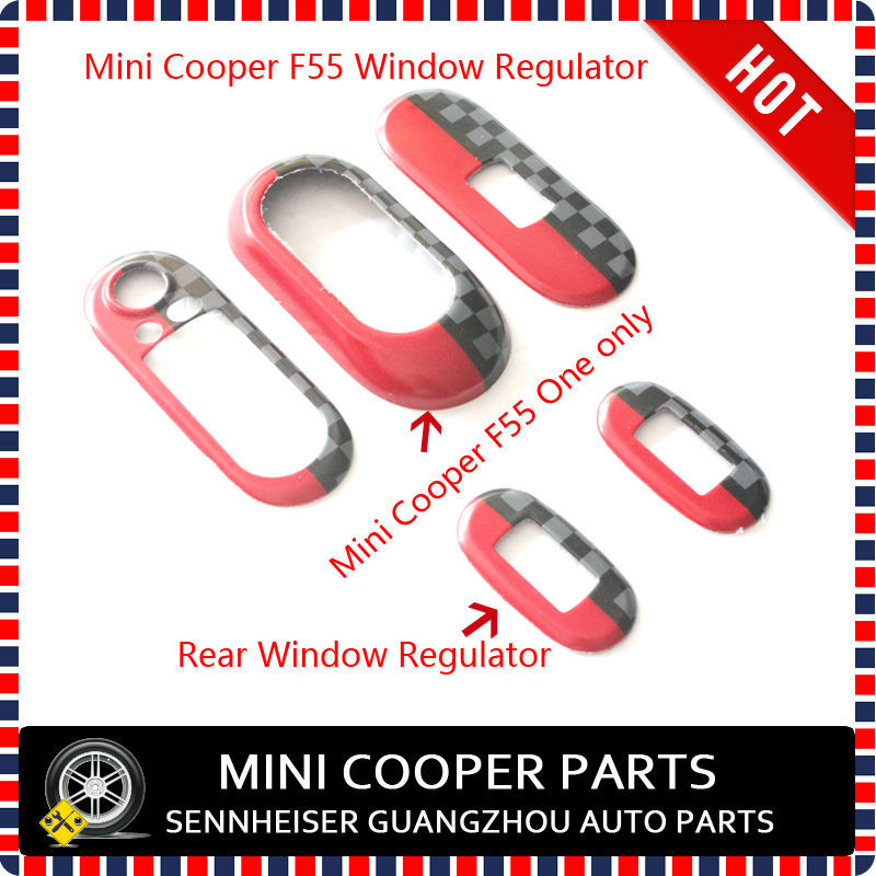 Brand New Uv Protected Window Regulators Driver Frame Jcw Style For