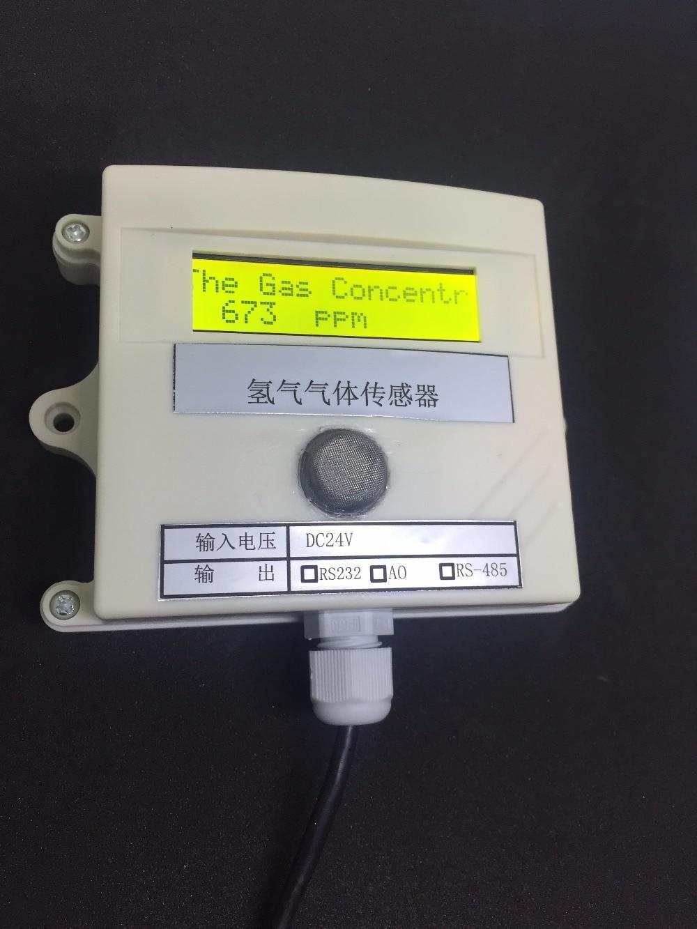 Hydrogen gas Concentration sensor transmitter H2 gas sensor online test 485 232 0-5v switching value 4-20MA plc modbu 0-1000ppm