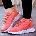 De las mujeres Zapatos Casuales de Colores de Marca de Deporte Para Caminar Zapatos de Mujer Para Correr Aire Superstar Basket Entrenadores Zapatillas Hombre Rojo Negro