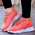 Women's Casual Shoes Colorful Brand Sport Walking Jogging Shoes Female Air Superstar Basket Trainers Zapatillas Hombre Red Black