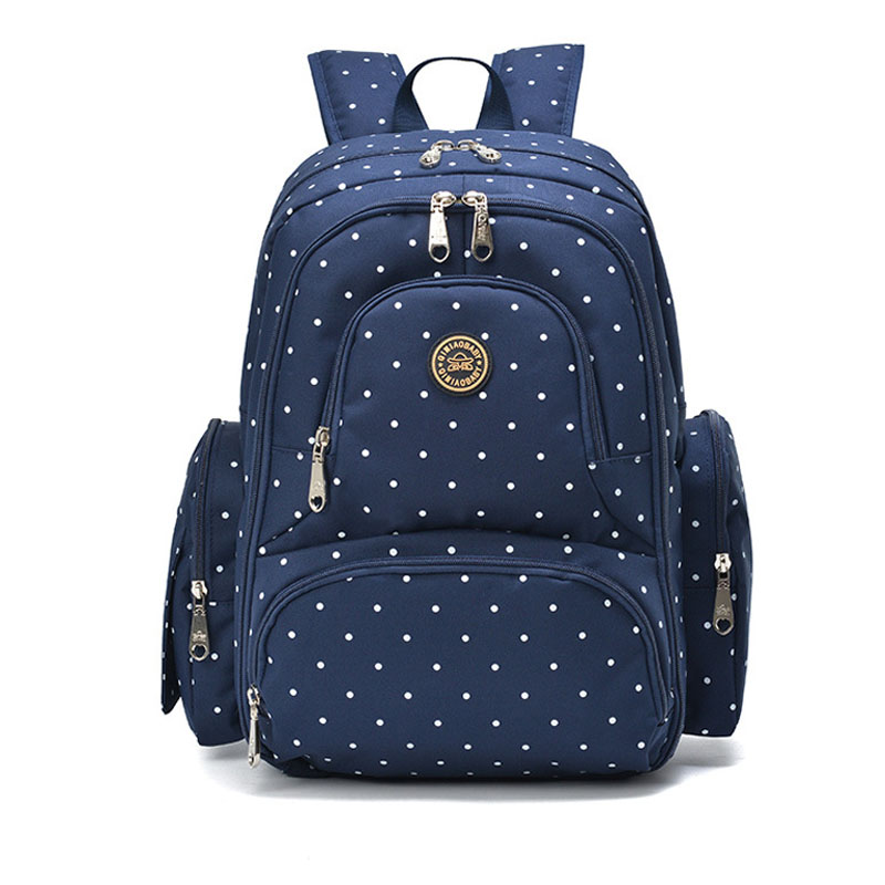 ФОТО Large Capacity Maternity Backpack Diaper Backpack for Travel Multifunctional Mother Baby Stroller Bags Nappy Backpack Mummy Bag