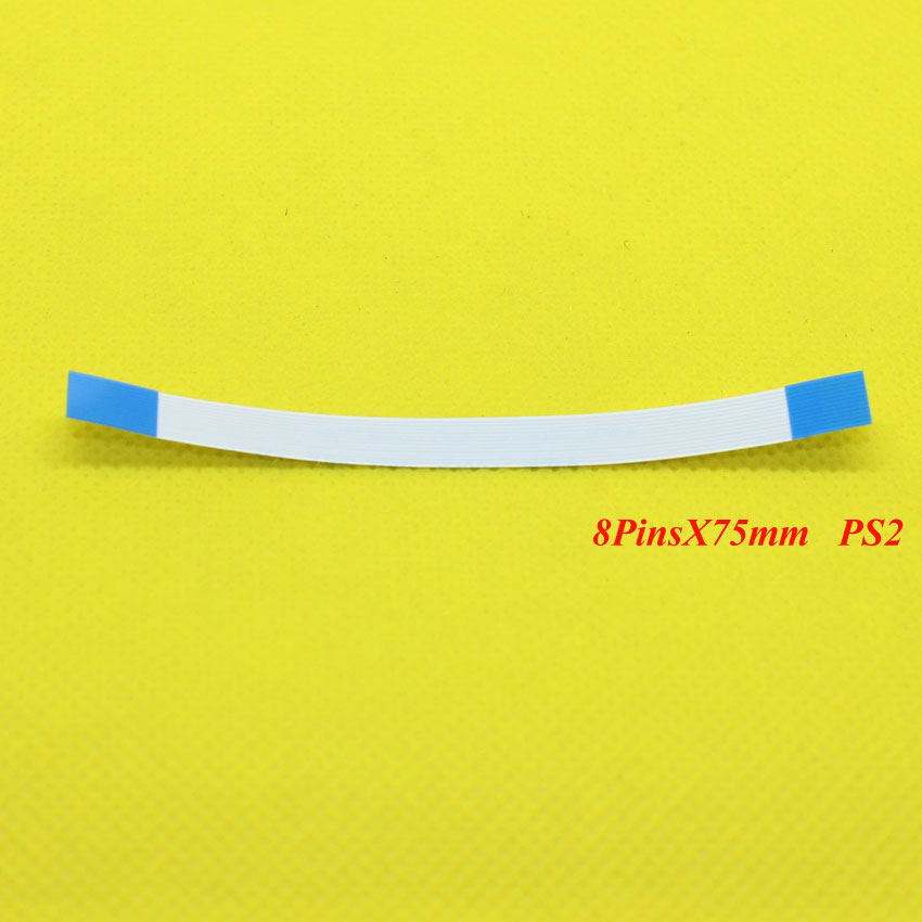 YX-187 200PCS For Sony Playstation 2 <font><b>PS2</b></font> 900xx 9000x <font><b>90000</b></font> Power Reset Switch Flex Ribbon Cable image