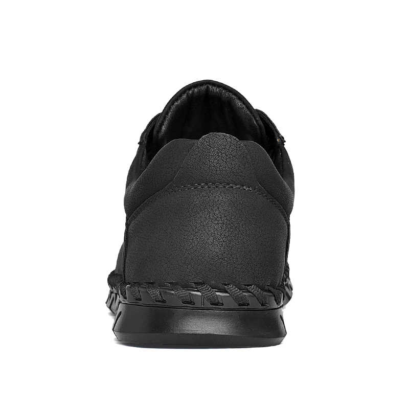 ผู้ชายหนังสบายๆรองเท้าหนังนิ่มผู้ชาย Loafers ฤดูใบไม้ผลิใหม่แฟชั่นรองเท้าผ้าใบชายรองเท้าหนังนิ่ม Krasovki ขนาดใหญ่ 38-48