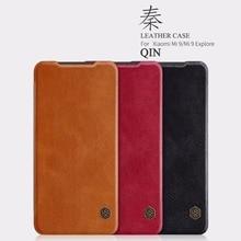 leather case for xiaomi mi 9 /mi9 Explore Nillkin QIN Protective flip Cover Case xiao and mi9