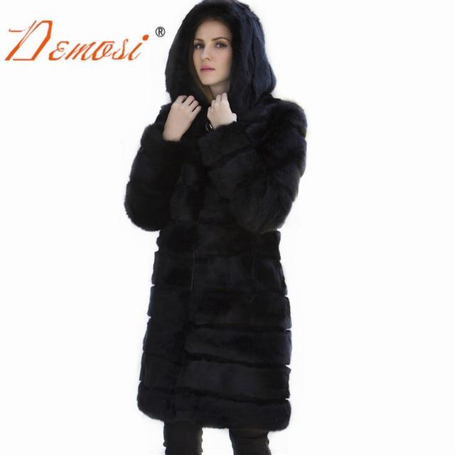 Real Fur Classic Natural Rabbit Fur Outerwear