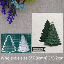 2019 Новое поступление, Рождественская елка, металлическая высечка, искусственное тиснение, Декор, фотоальбом, бумажные карточки, крафтовые изделия