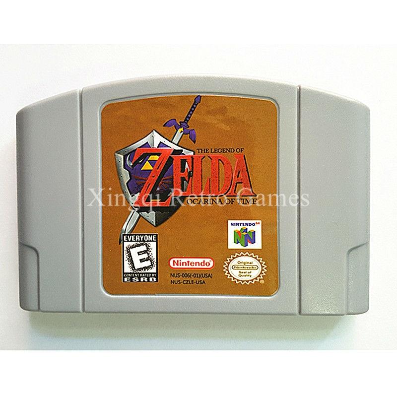 Nintendo 64 Game Legend of Zelda Ocarina of Time Video Game Cartridge Console Card English Language US Version