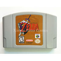 Nintendo 64 Game Legend Of Zelda Ocarina Of Time Video Game Cartridge Console Card English Language