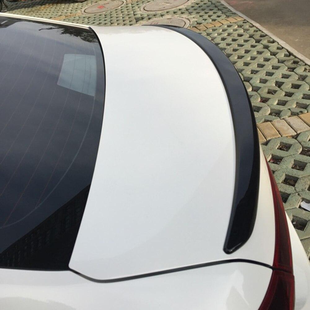 Aliexpress com acheter noir peint abs voiture arri re lip spoiler wing pour mazda 3 axela 2014 2016 de spoiler wing fiable fournisseurs sur illusions