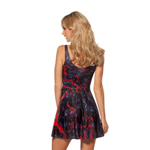 Sexy Summer Dress for Women – 3D Print, Reversible, Sleeveless – Available in 8 Designs