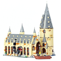 LELE 39144 Harry Potter Serices Hogwarts Great Hall Compatibility legoings Harry Potter Building Blocks Bricks Toys For Children