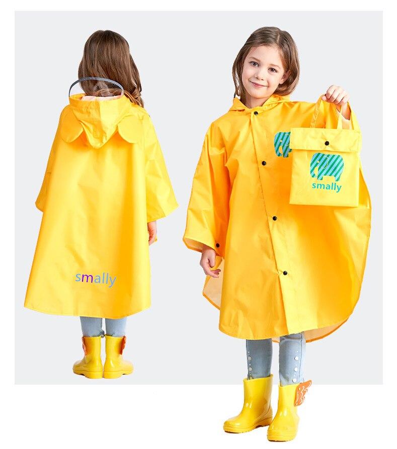 662dd7437f18 Kocotree Raincoat for Children Cartoon Kids Girls Rainproof Rain ...