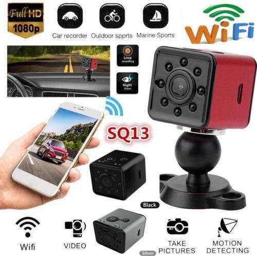 WiFi SQ13 Mini DVR Camera HD 1080P Night Vision Video Recorder CamcorderWiFi SQ13 Mini DVR Camera HD 1080P Night Vision Video Recorder Camcorder