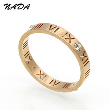 Vintage Hollow Titanium Crystal Silver Finger Ring for Women Men Wedding Rings Lover Wholesale Price Christmas Cheap Lot R17001