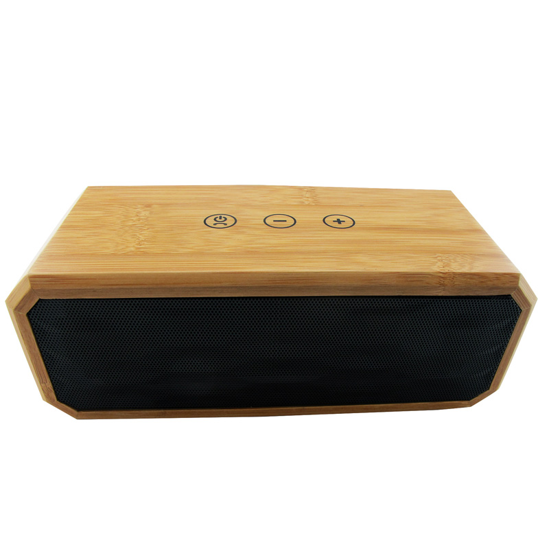 OARIE Natural Wooden Wireless Bluetooth CSR 4.0 Speaker With Mic Portable Handsfree Bamboo USB Speaker Sound Box Loudspeaker