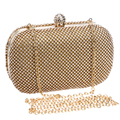 Luxury Diamond Evening Bags Classic Rhinestone Day Clutch For Lady Recommend for Everyone Gold/Silver/Black Crystal Bag