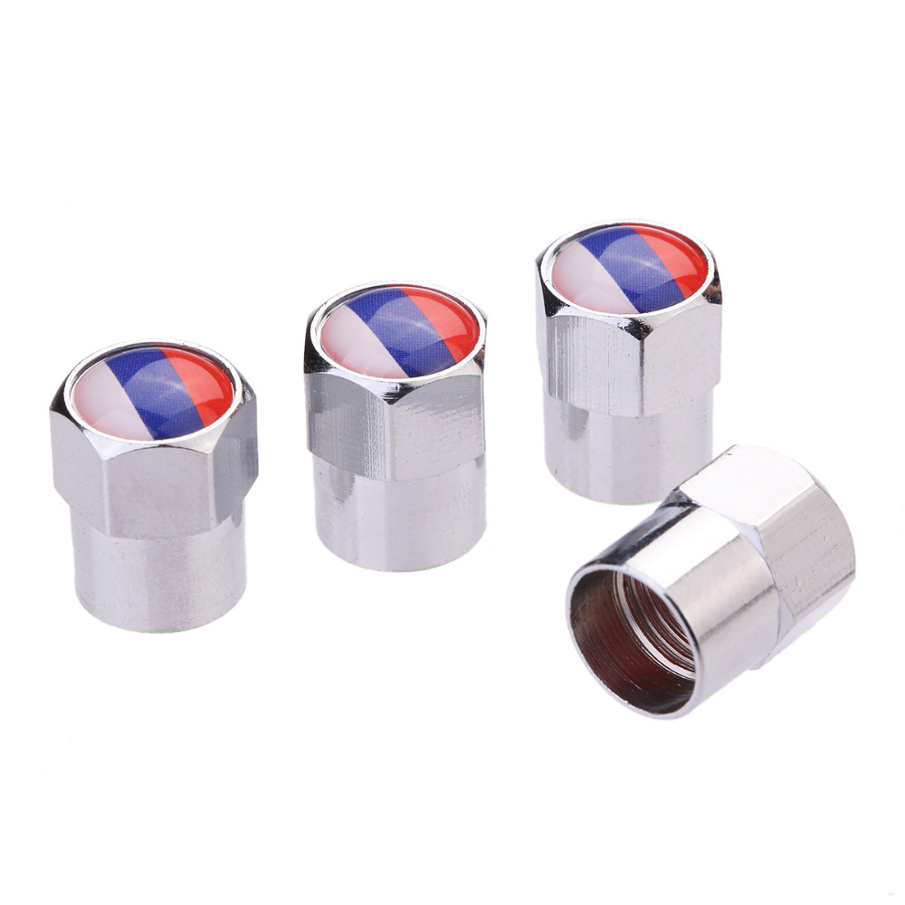 4 Pcs Lot Flag Australia Russia Spain England Italy France USA Germany Car Motorcycle Wheel Tire Valve Stem Air Caps Car Styling in Valve Stems Caps from Automobiles Motorcycles
