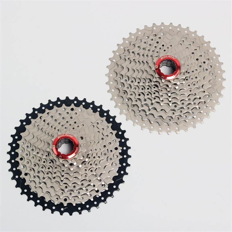 BOLANY MTB Mountain Road Bike Bicycle Freewheel 10 Speed 11 42T Bike Steel Casette Flywheel Ultra