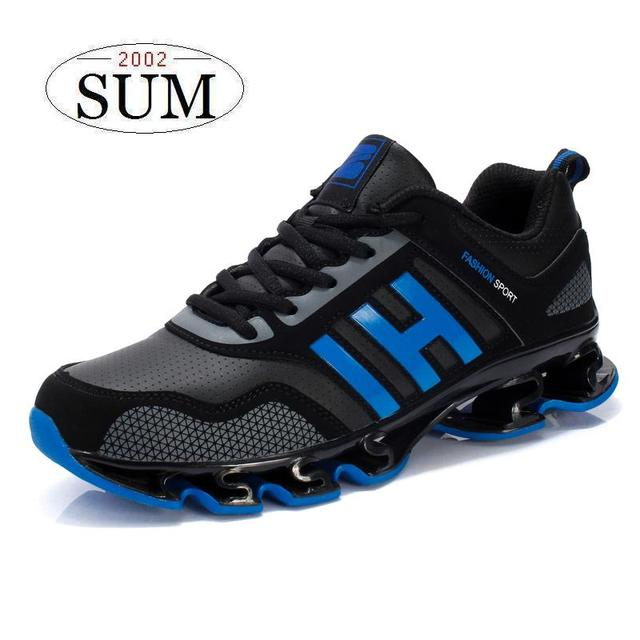 SUM new arrival 2016 men's running shoes lightweight sport sneakers outdoor athletic shoes male zapatos de hombre