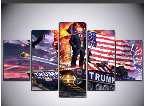 Full Drill 5p American Donald Trump Mural Art Diamond Picture 5Ddiy Modern Home Wall Decorative Canvas Diamond Picture Mosaic Pi