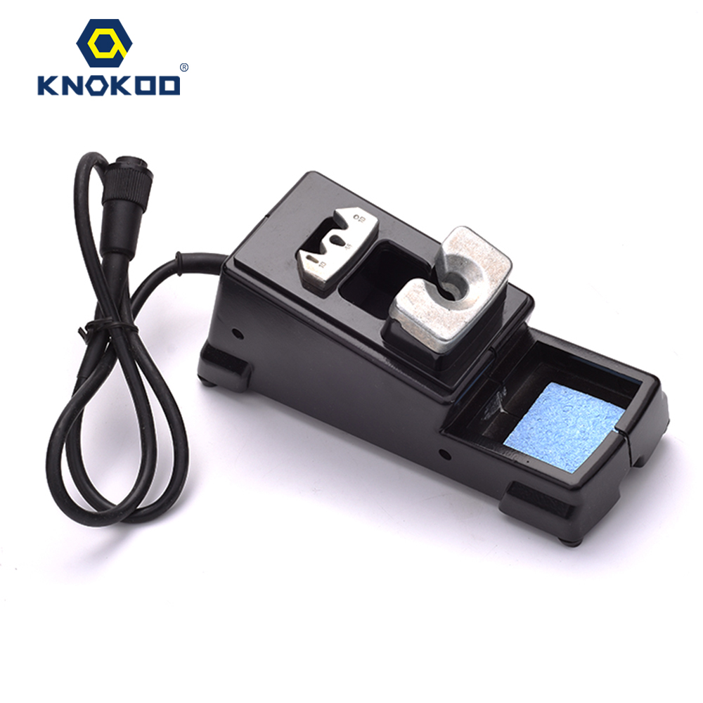 KNOKOO DI3000 Holder for ESD Safe Digital Display Intelligent Temperature Control Soldering Machine with C245 Solder