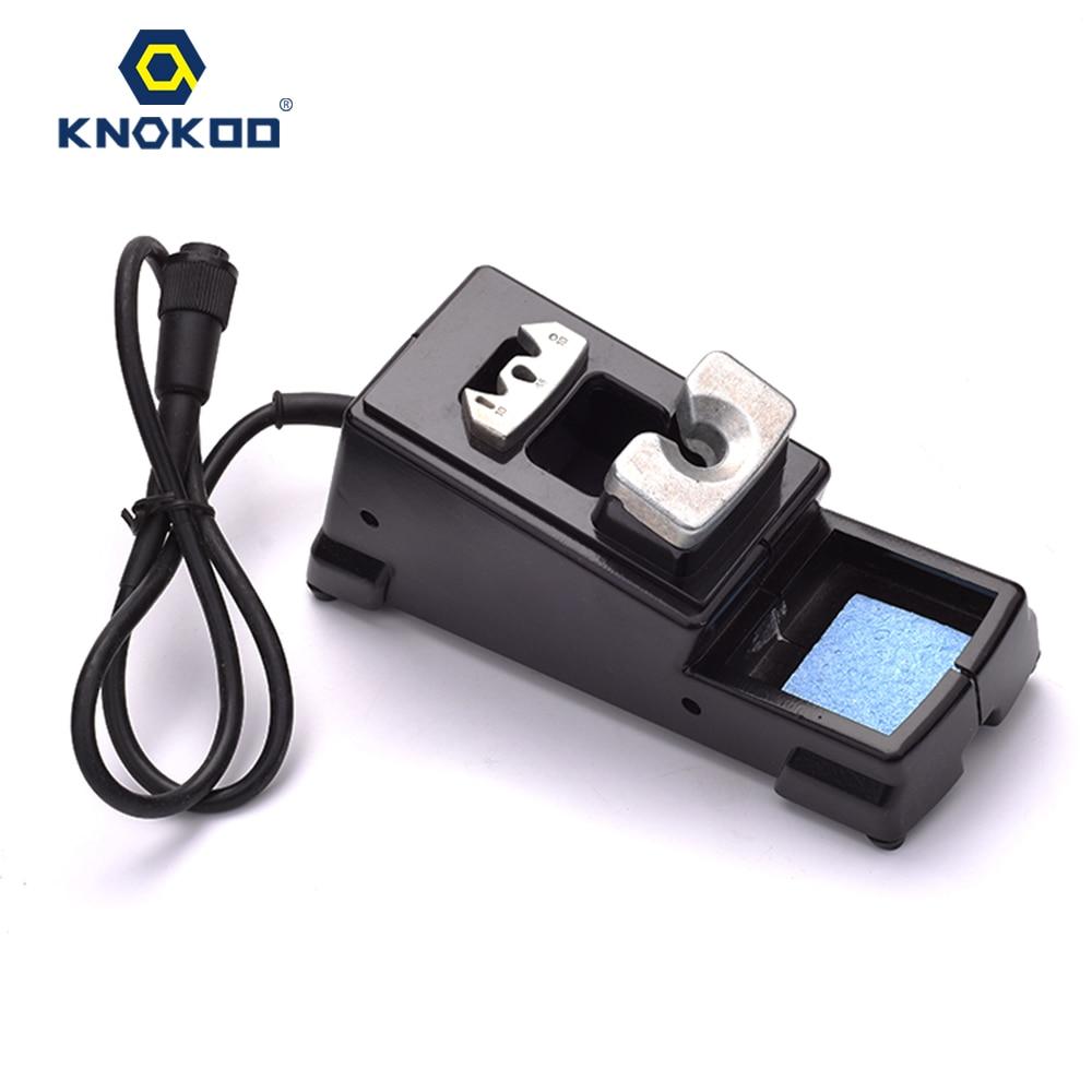 KNOKOO DI3000-Holder for ESD Safe Digital Display Intelligent Temperature Control Soldering Machine with C245 Solder Tips knokoo esd safe 75w soldering handpiece for di3000 intelligent soldering station solder iron
