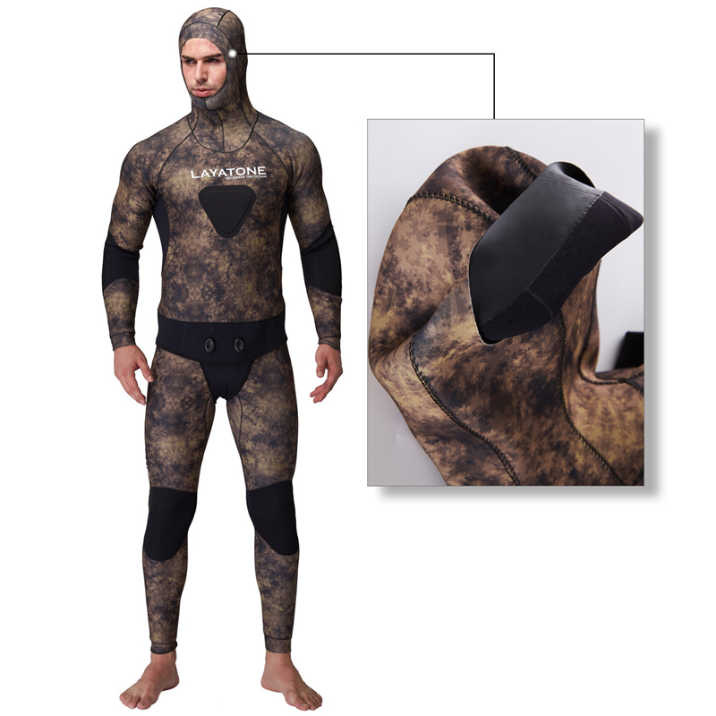 spearfishing underwater hunting opencell snooth skin wetsuit yamamoto cressi05