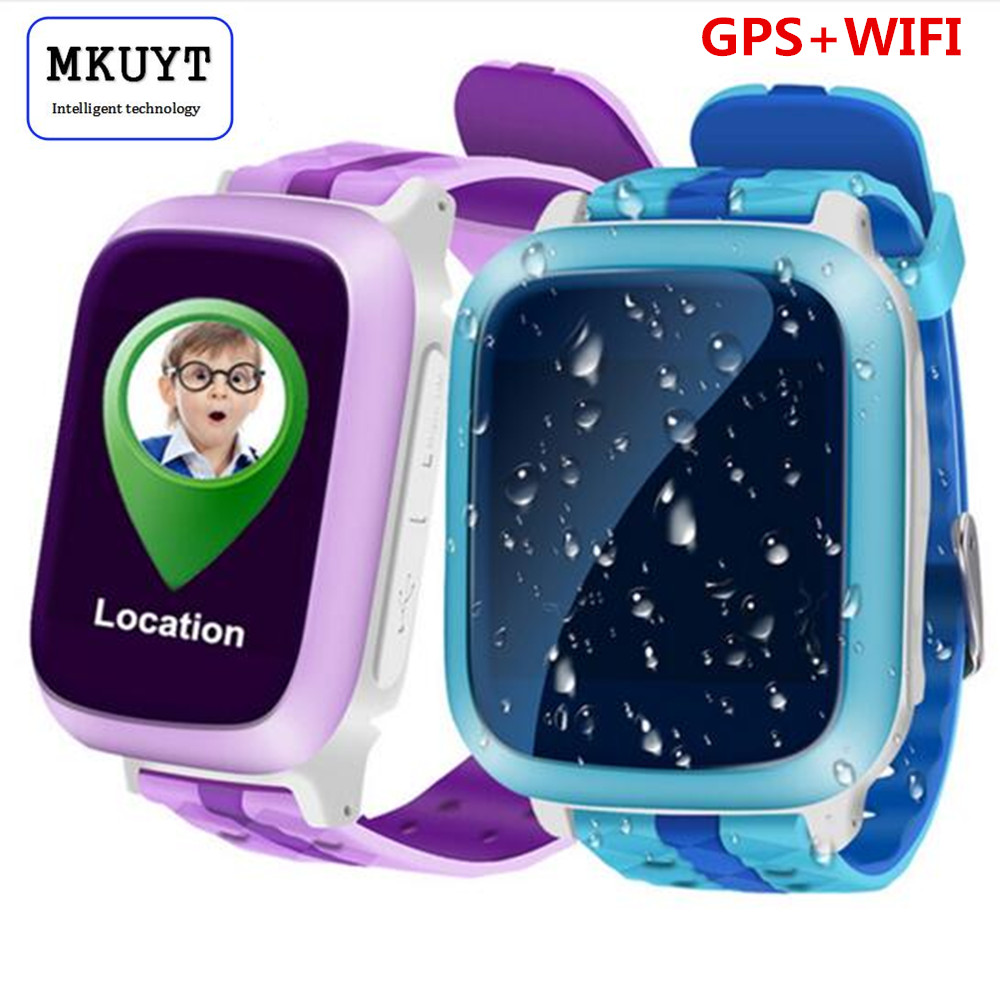 DS18 GPS WiFI Smart Watch baby watch Locator Tracker SOS Call SMS Support SIM Card for