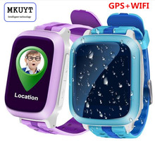 DS18 GPS WiFI Smart Watch baby watch Locator Tracker SOS Call SMS Support SIM Card for kids safe PK Q50 Q60 Q80 Q750 Q90 Q100