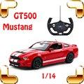 Presente de natal 1/14 Mustang GT500 RC Carro de Esportes Clássico Precisa Para Modelo velocidade Racer Brinquedo Para Os Fãs Do Carro de Drift Elétrico Fãs Presente