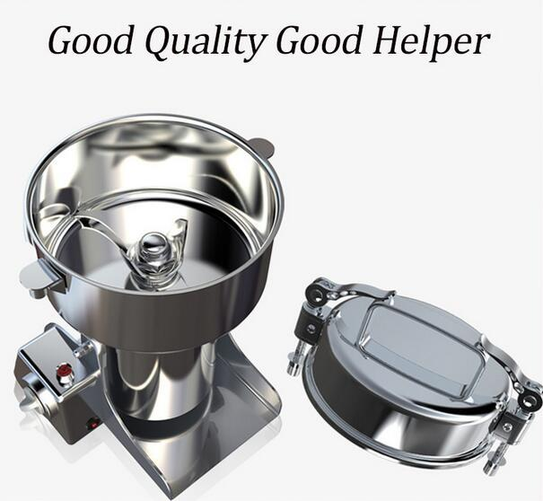 Free shipping 2200G Flour Pulverizer Multifunction Swing Type Food Crusher 220V Portable Household Corn Milling Machine