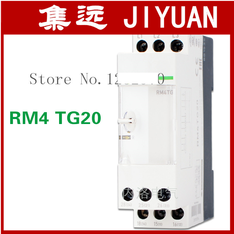 [ZOB] Imported authentic original (Indonesia) phase sequence relay RM4TG20 lack of protection of three-phase