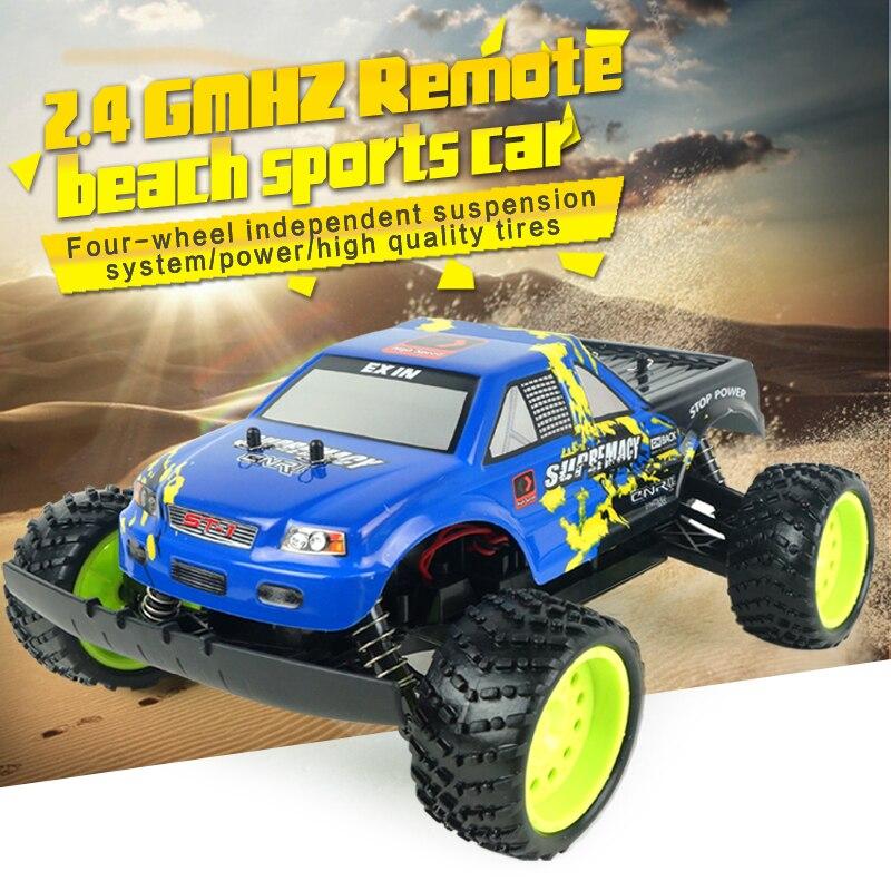 Voiture RC nouveauté gros jouets voiture modèle radiocommande 2.4G voiture électrique RC haute vitesse voiture de sport de plage RC pour les enfants