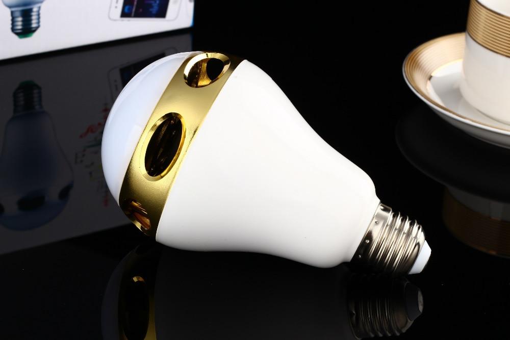 Draadloze Muziek Knipperende gekleurde Lichten Smart Kleurrijke LED Bluetooth Speaker Hi Kwaliteit Verlichting Controle Tricolored Bollen - 5
