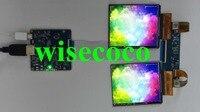 3,81 дюймов AMOLED двойной ЖК 1080*1200 светодиодный дисплей с HDMI к MIPI drive доска для DIY VR набор