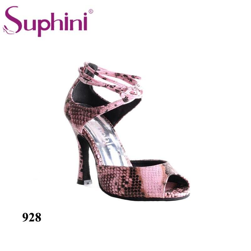Livraison gratuite Suphini Style Social chaussures de danse femme Salsa chaussures de danse latine