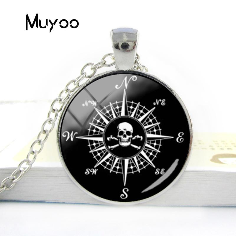 HTB1k.r9V7voK1RjSZFNq6AxMVXaP - Vintage Old Compass Rose Steampunk Style Glass Cabochon Pendant Necklaces Glass Color Compass Jewelry Nacklace Gifts