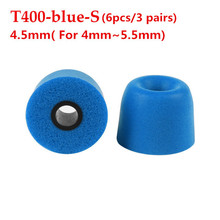 Xingshenglong best 3 Pair/Set Universal Memory Foam Earbuds T400 T100 Ear tips for In-Ear Earphone Soft and Easy to Replace New ak 4 pairs 8pcs kz noise isolating memory foam c sets 3mm 5mm t100 t400 ear tips for in ear earphone earbud